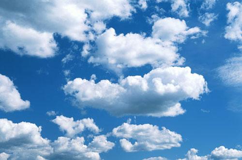 immagine: cielo con nuvole