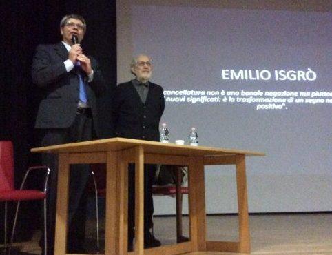 Foto di Emilio Isgrò