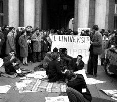 Foto manifestazione di protesta