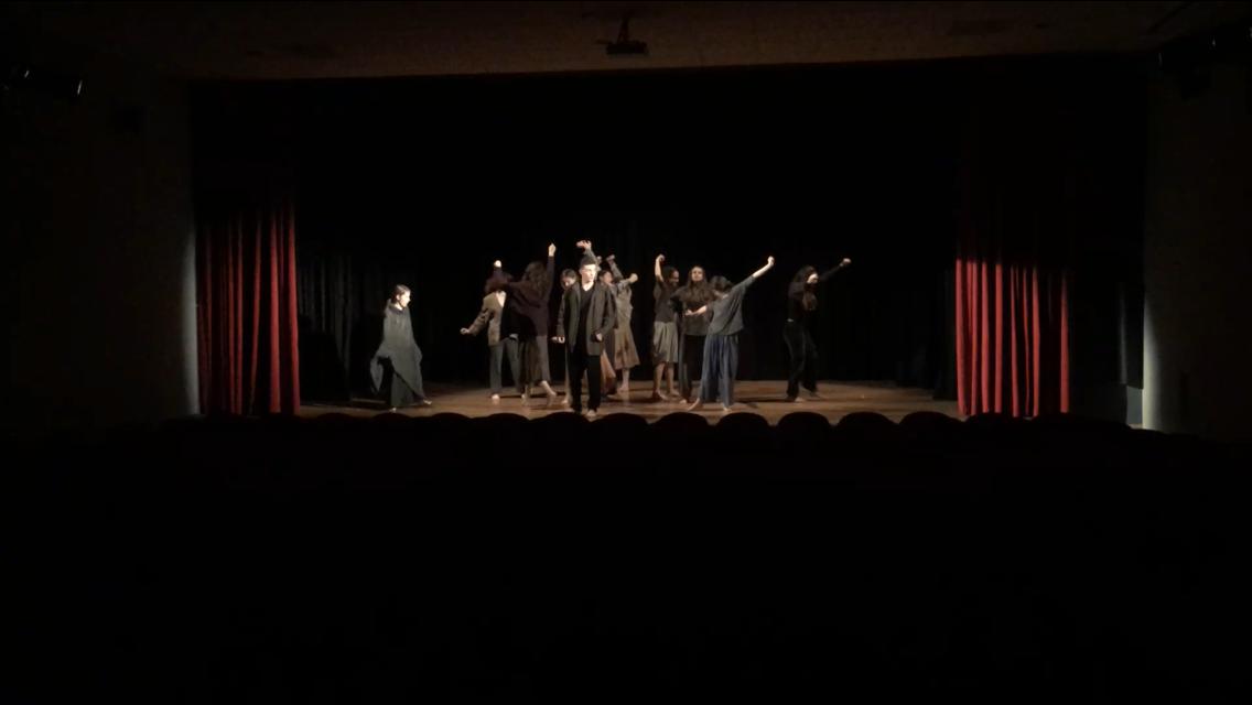 foto di rappresentazione teatrale