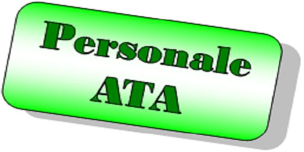 immagine con scritta Personale ATA