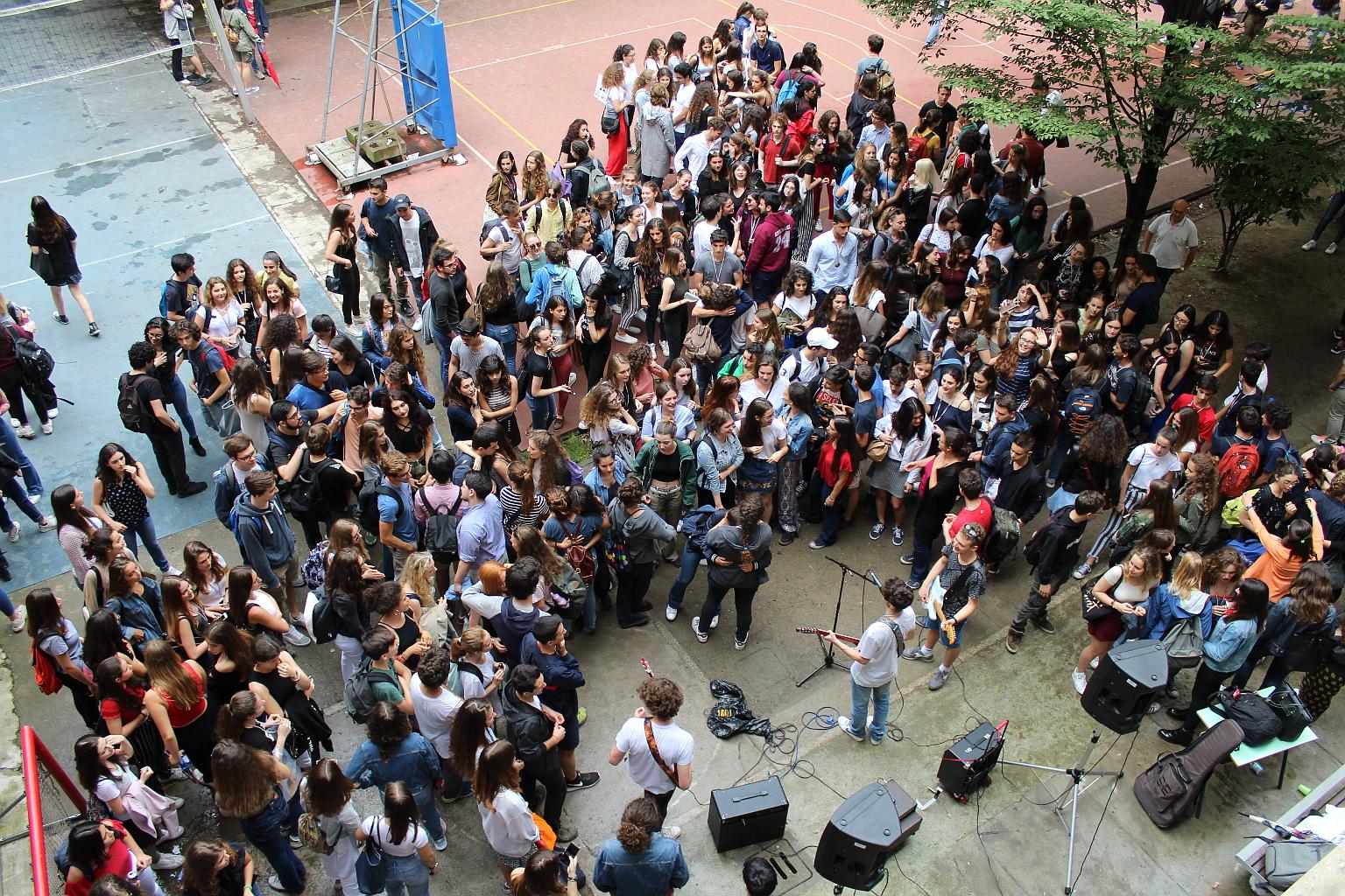 foto di concerto al Berchet