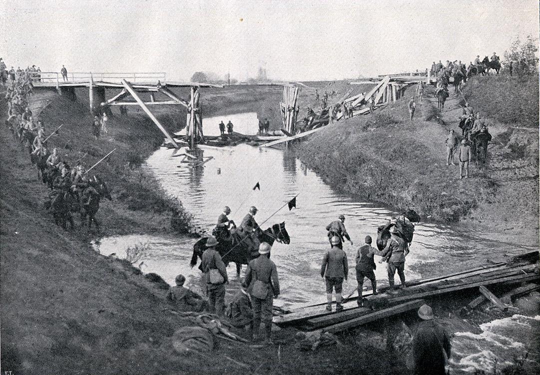 foto d'epoca con soldati