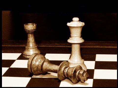 immagine di partita a scacchi