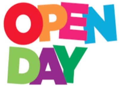 """immagine con scritta """"Open Day"""""""