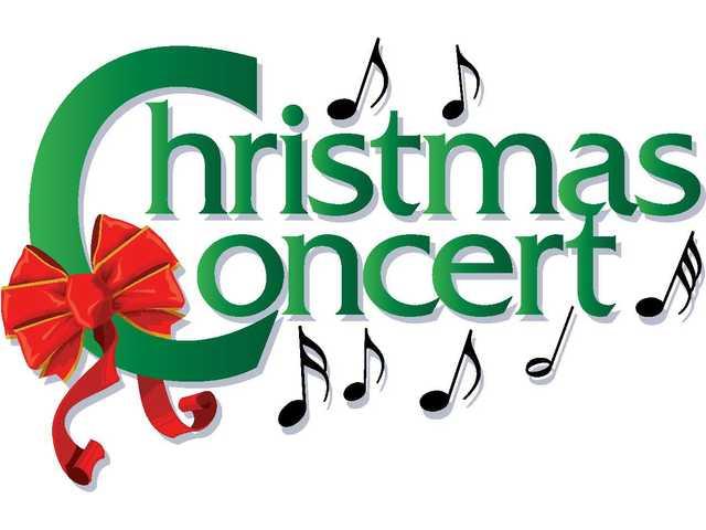 """immagine con scritta """"Christmas concert"""""""