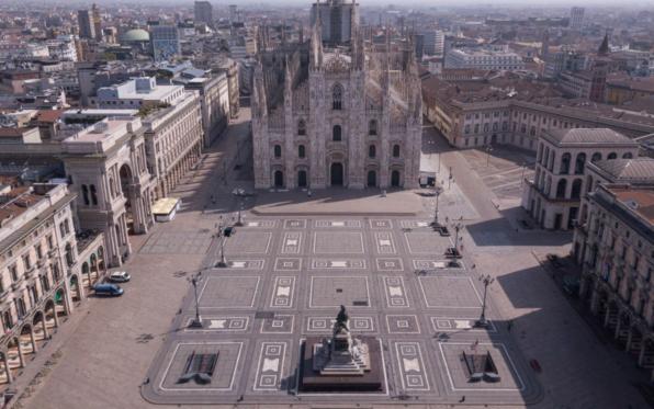 immagine di piazza duomo a Milano