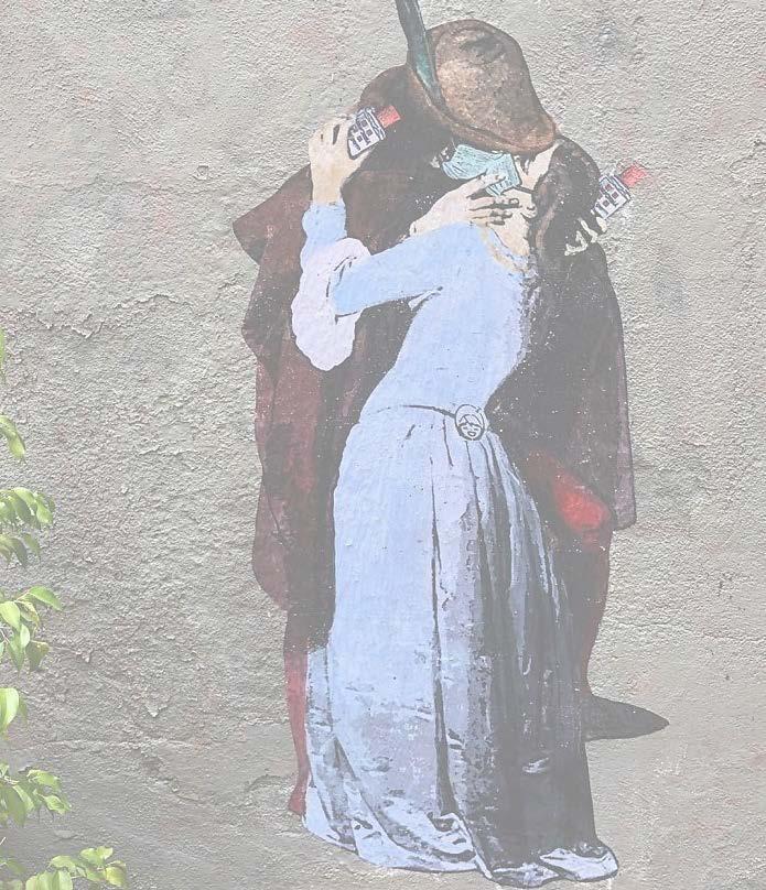 """immagine del quadro di Haiez """"il bacio"""""""